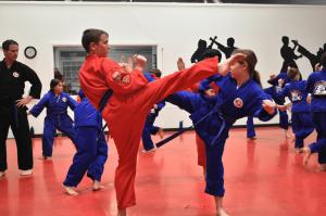 junior martial arts training